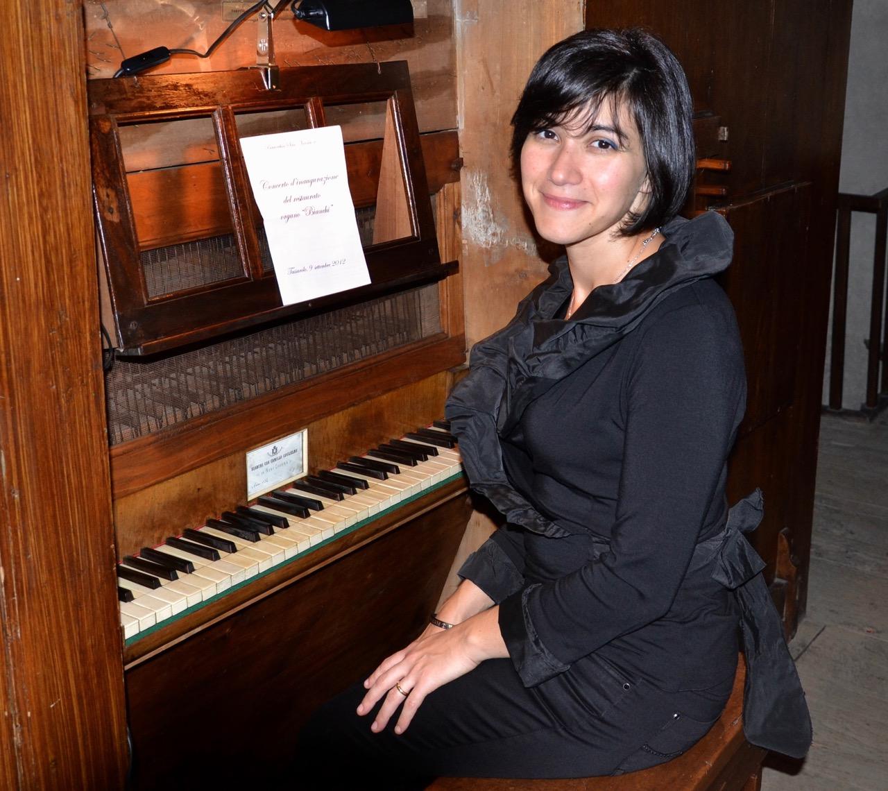 Concerti d'organo 2017 - Daniela Scavio