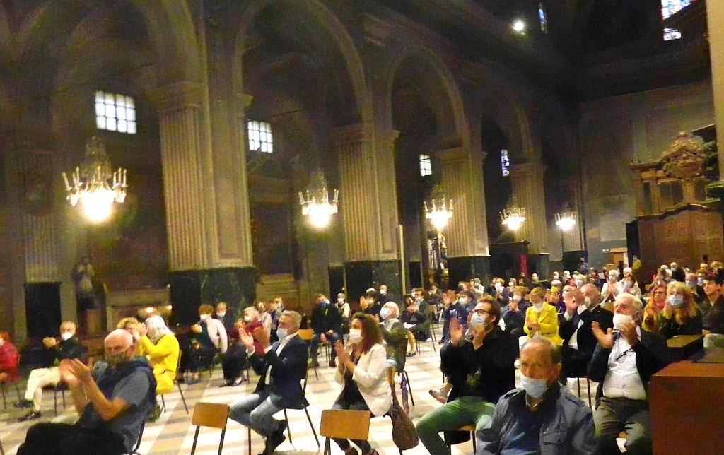 Foto del concerto di Enrico Viccardi a Valenza