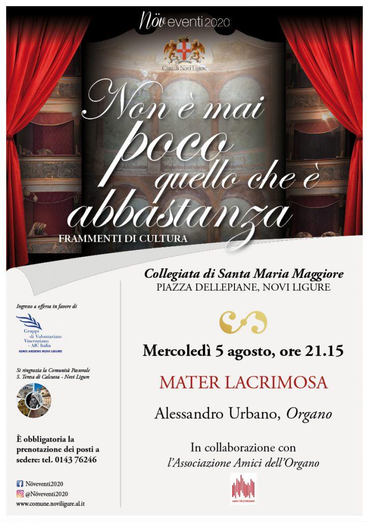 Concerto Enrico Viccardi – 5 agosto 2020