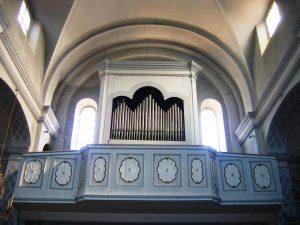 Organo chiesa Parrocchiale di Castellar Guidobono