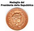 Medaglia del Presidente della Repubblica