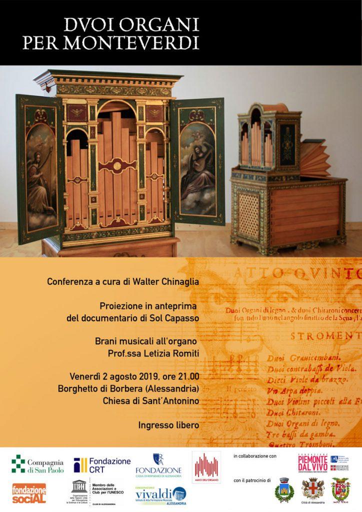 """Conferenza """"Duoi organi per Monteverdi, quando la Fisica incontra la Musica"""""""